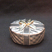 Vintage Godinger Silver Art Co Silver Plated trinket Box 1970s Very Good Condition.