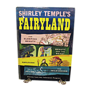 SALE Vintage Shirley Temple's Fairyland Book 1958 Very Good Condition