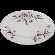 SALE Vintage Royal Doulton Fine Bone China 10 Inch Oval Vegetable Bowl Clovelly Pattern Very .