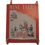 Set of 5 Vintage Mini Books Tales of Long Ago Original Holder First Edition Very ...