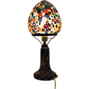 SALE Vintage Murano Millefiori Table Lamp 1960s Excellent Condition