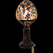 SALE Vintage Murano Millefiori Table Lamp 1960s Excellent Condition