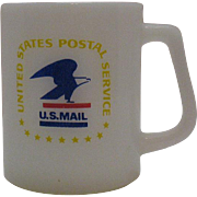 SALE Vintage Federal U.S. Postal Cup 1960-70s Very Good Condition