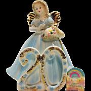 Vintage Josep Original 20 Year Birthday Girl Figurine 1980s Very Good Condition