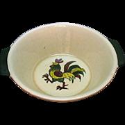 Vintage Metlox Vernon Poppytrail California Provincial 8 Inch Round Vegetable Bowl 1956-82 Ver