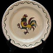 Vintage Metlox Vernon Poppytrail California Provincial 12 Inch Chop Plate 1956-82 Very Good ..