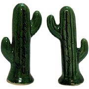 Vintage Souvenir Cactus S&Ps Carlsbad New Mexico 1950s Good Condition