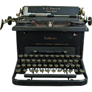 SALE Vintage 1930s L.C. Smith & Corona Typewriter Good Condition