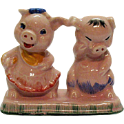 Vintage Regal China Co. for C.Miller Pigs S&P Shakers Single Base 1940-50s ...