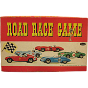 Vintage Car Road Racing Board Game Whitman Publishing Co. 1960 Good Condition and Complete
