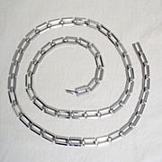 SALE 50% OFF~Unique Vintage Signed Napier Silver Link Belt~UNWORN