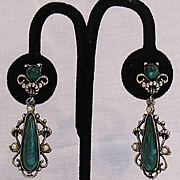SALE 50% OFF~Gorgeous Vintage Dangle Earrings Victorian Revival