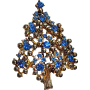 SALE Vintage Eisenberg Christmas Tree Brooch