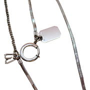 SOLD Hard to Find Sterling Silver Signed Anson Vintage Watch Fob