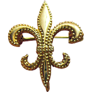 Very Rare Vintage 10K Gold Boy Scout Watch Fob Pin Signed Bojar