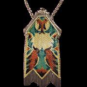 SALE Gorgeous Vintage Signed Mandalian Mesh Bag