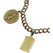 SALE Rare Vintage Avon 'Presidents Award' Charm Bracelet~1965
