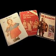 Trio of Doll Books
