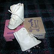 "Vintage MIB Roller Skates fits a 21"" Doll"
