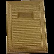 Vintage Gold Tone Metal Picture Holder