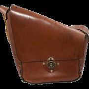 Vintage Boho Brown  Leather  Purse
