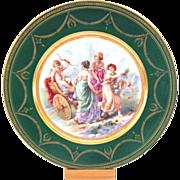Gorgeous Cabinet Plate Ginori Cupid Angel Beautiful Women