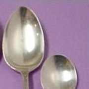 Wallace Rosepoint/Rose Point Sterling Silver Sugar Spoon