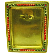 Mini Micromosaic Frame Square from Italy