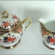 Noritake Nippon Imari Gorgeous Creamer and Sugar