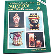 Nippon Porcelain Collector's Encyclopedia by Van Patten with Updated Values