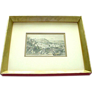 SALE PENDING T.Allom 19th C. Tinted Engraving from China Illustrated