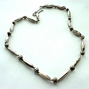 Fabulous Sterling Silver Necklace