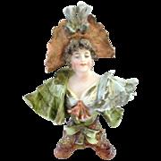 SALE Gorgeous Miniature Porcelain Rudolstadt Bust Like Teplitz