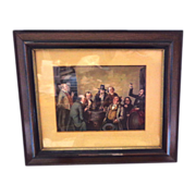 REDUCED Antique Framed Mezzotint of (2 of 2)