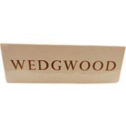 SOLD Wedgwood Display Sign - Red Tag Sale Item