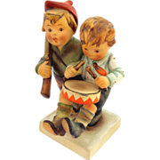 Older 1950's Hummel Volunteers  Double Figurine