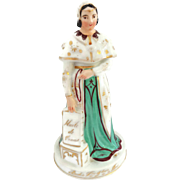 Antique French Figural Perfume Bottle or Decanter by Jacob Petit