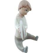 SALE Lladro #4613 Boy With Cymbals Retired Matte Finish