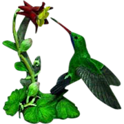Vintage Lenox Hummingbird