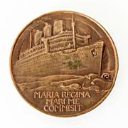 Dtd. 1936 Bronze Queen Mary Commemorative Medal