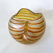 Beautiful Circa 1900 Loetz / Kralik Art Nouveau Bowl