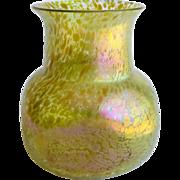 Loetz Art Nouveau Large Candia Papillon Vase