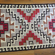 Exceptional Circa 1900 Navajo Native American Indian Rug