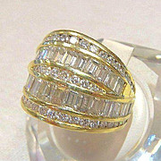 Lady's Custom 18K 2.66 Ct. Diamond Ring