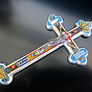 Grand Touring Vintage Micro Mosaic Cross
