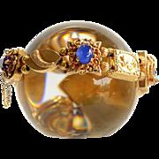 Lady's Vintage 14K Slide Chain Bracelet