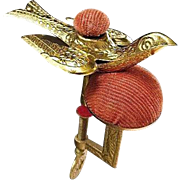 Circa 1880 Antique Victorian Sewing Bird