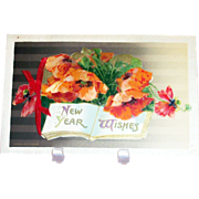 New Year Wishes Card/ Postcard - Winsch