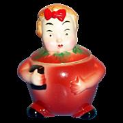 SALE PeeDee Porcelain Stella Jam Jar - Marked