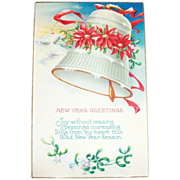 New Year Greetings Postcard